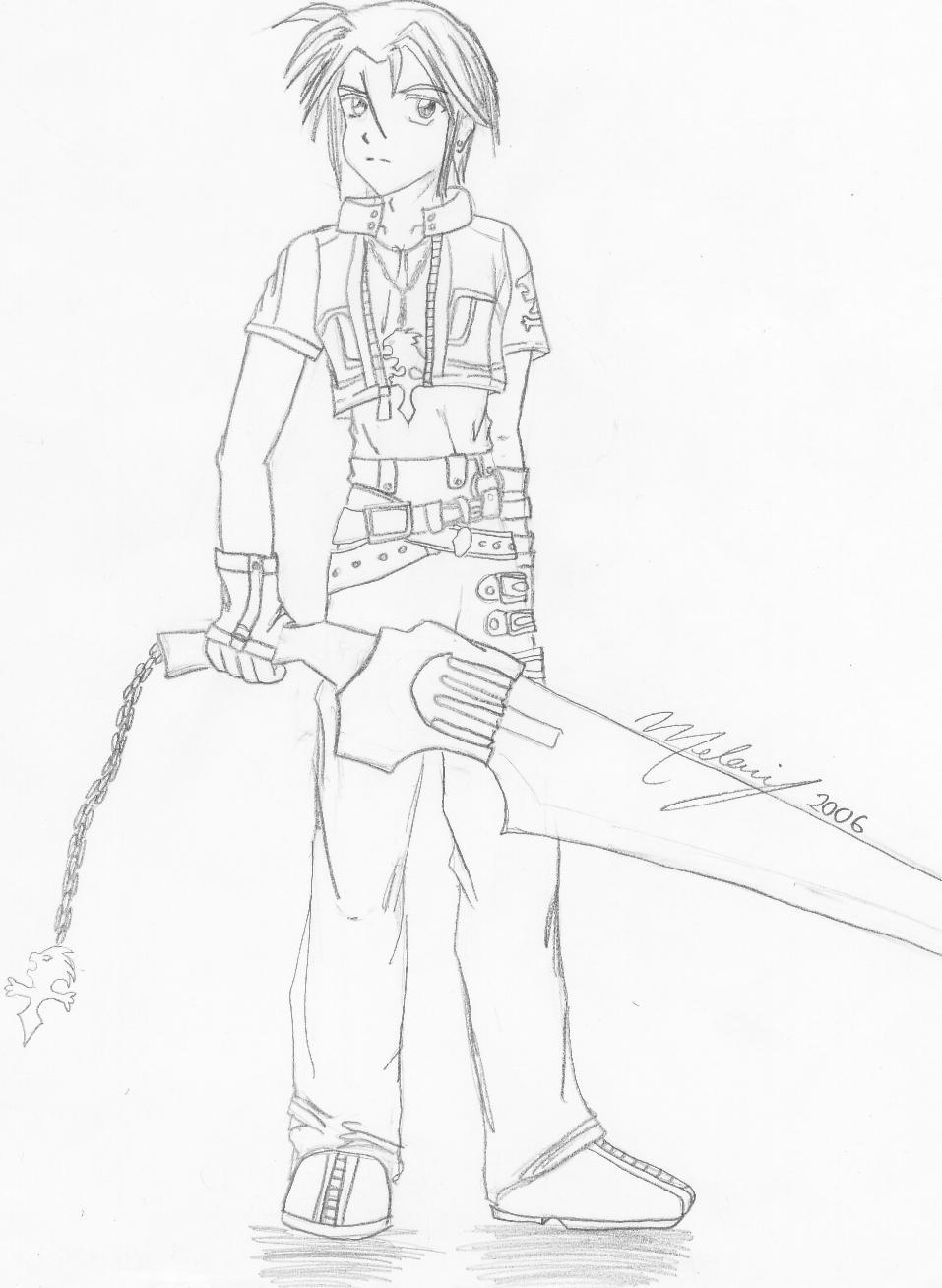 Leon - Kingdom Hearts by ladystrife