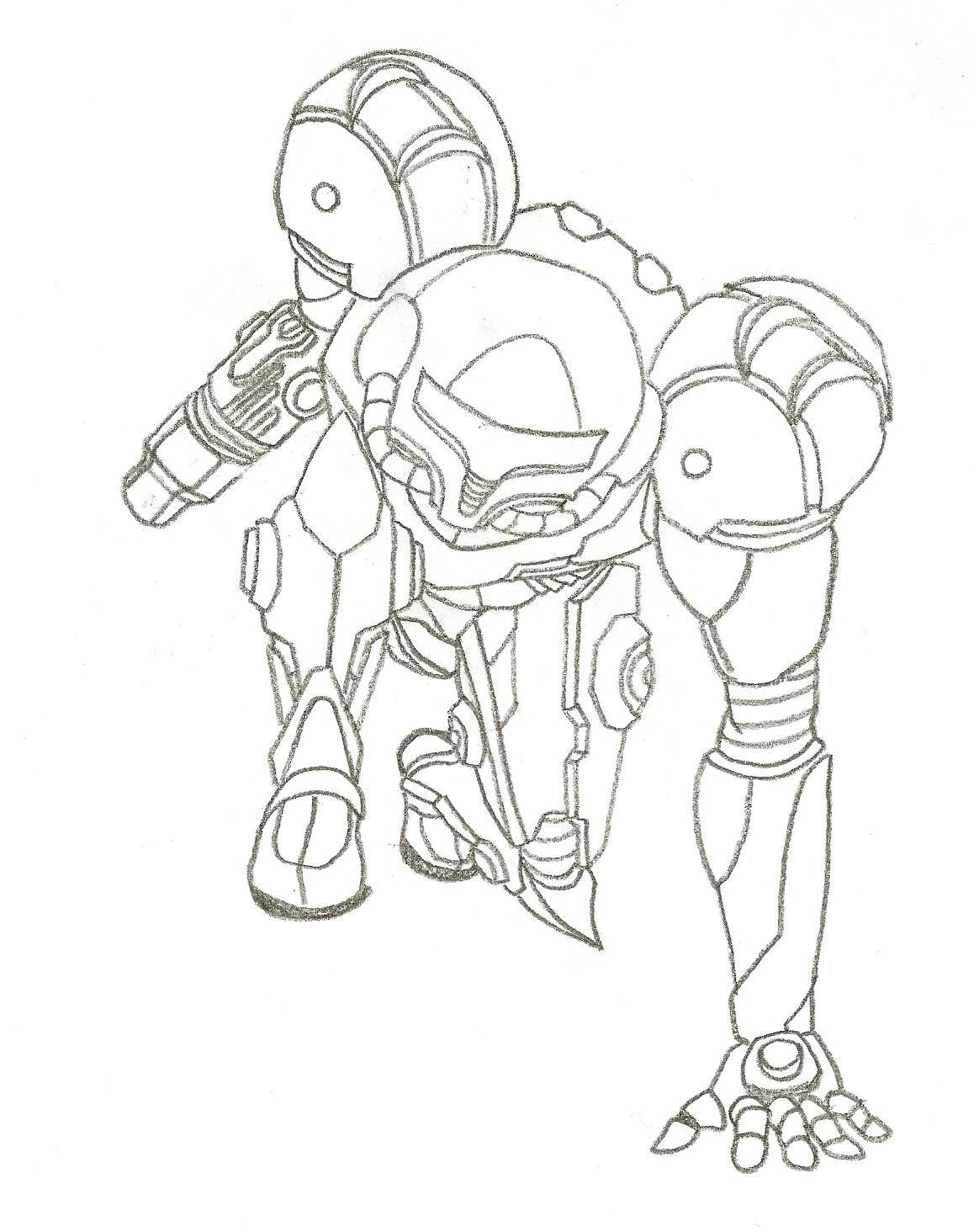 samus by linkistheman