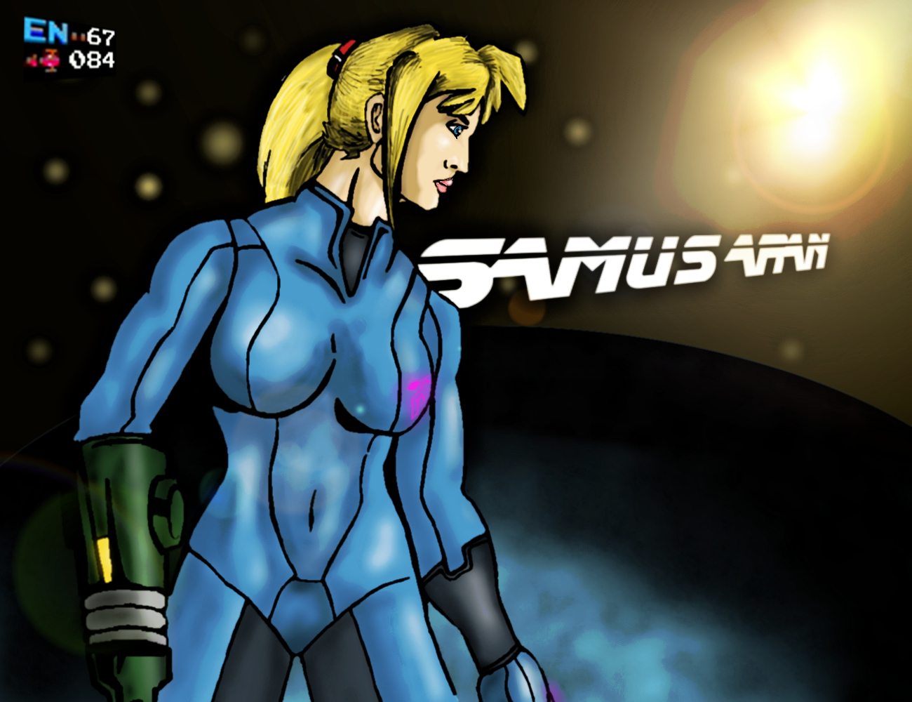 Samus Aran by linkistheman