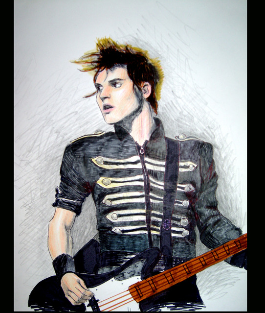 Mikey Way by lisabailarina