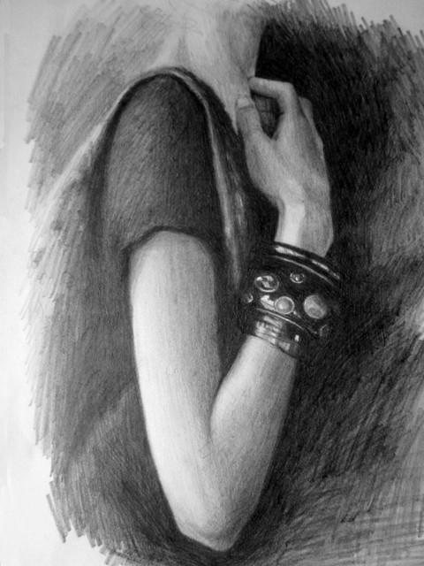 Hand on the shadows by lisabailarina