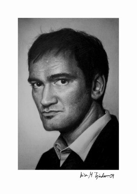 Quentin Tarantino by lisabailarina
