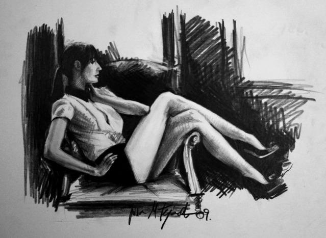 Scketch by lisabailarina
