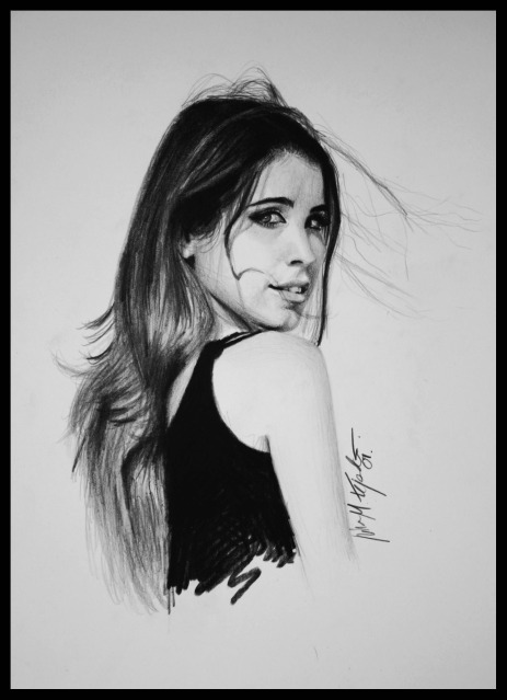 Selfportrait by lisabailarina