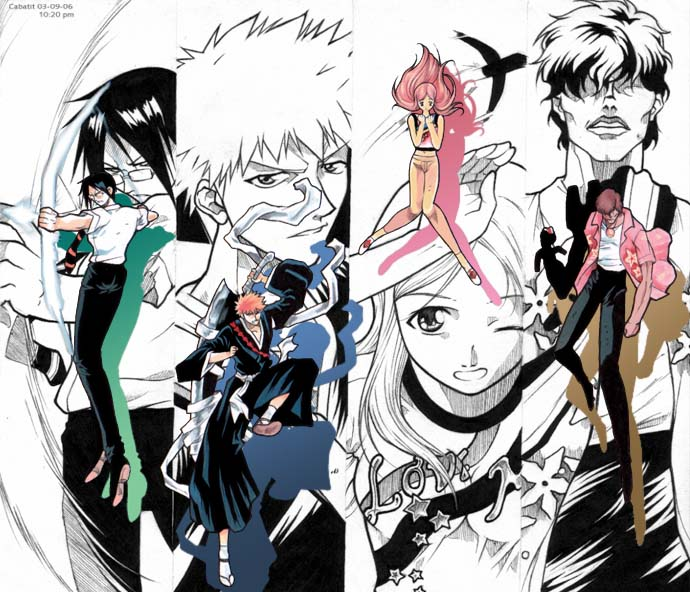 Bleach!!! Group Pic! by lisetdom
