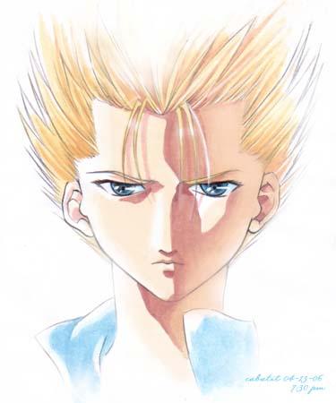 Ginji - Thunder Emperor by lisetdom