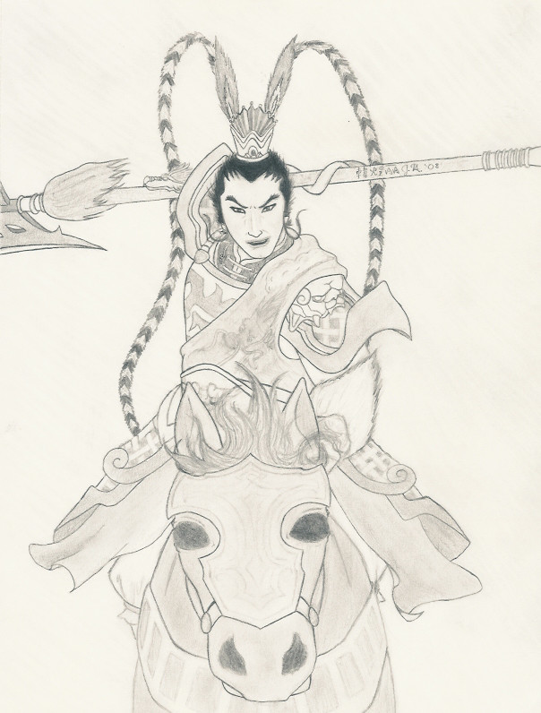 It's Lu Bu! by little_idiot