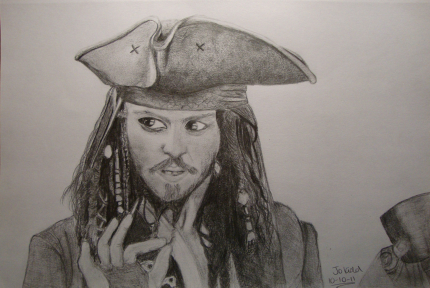 Jack Sparrow by littlefootflojo