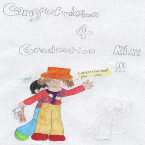 Congratulations on Graduation Kiki! by living_4ever