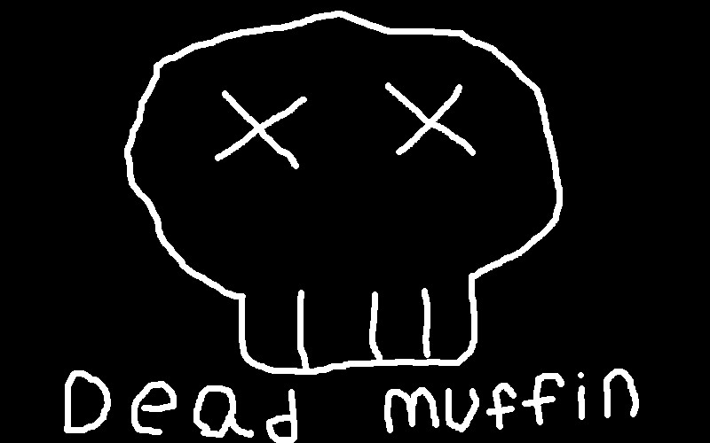 Dead Muffin my logo by livingdeadguy