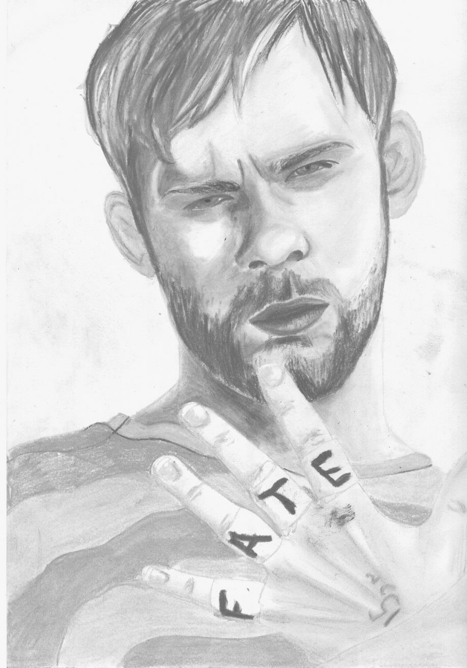 Charlie Pace - Dominic Monaghan by lizswann