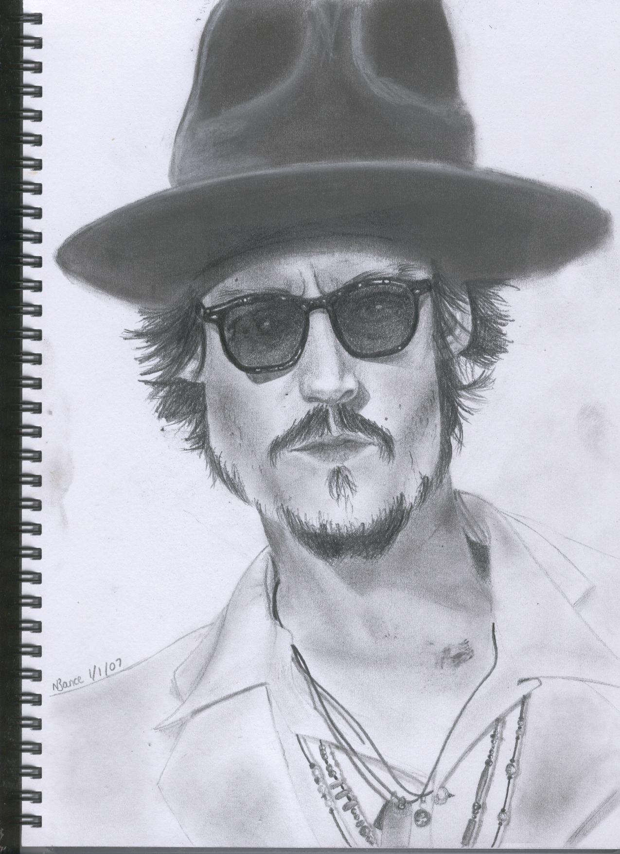 Johnny Depp by lizswann