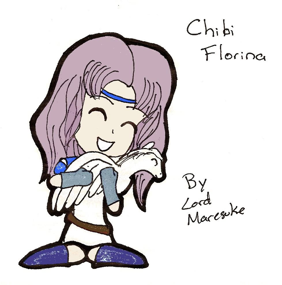Chibi florina by lordmaresuke