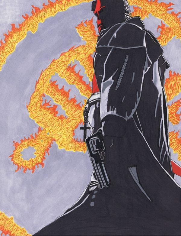 hellboy by lostmoonarts