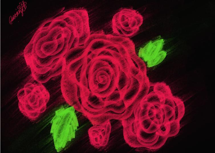 roses by loveangel1988