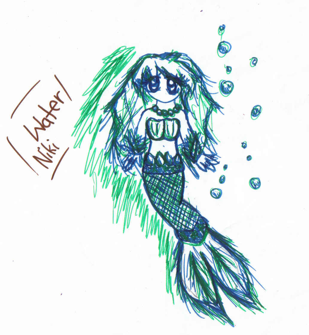 Niki Element Water by lp-dragonfly