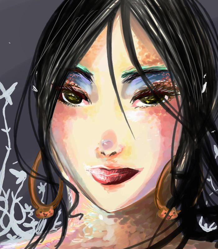 A Burned Flora by luckylace222