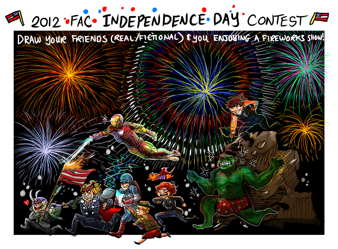 FAC Independence Day Contest (2012) by luckylace222