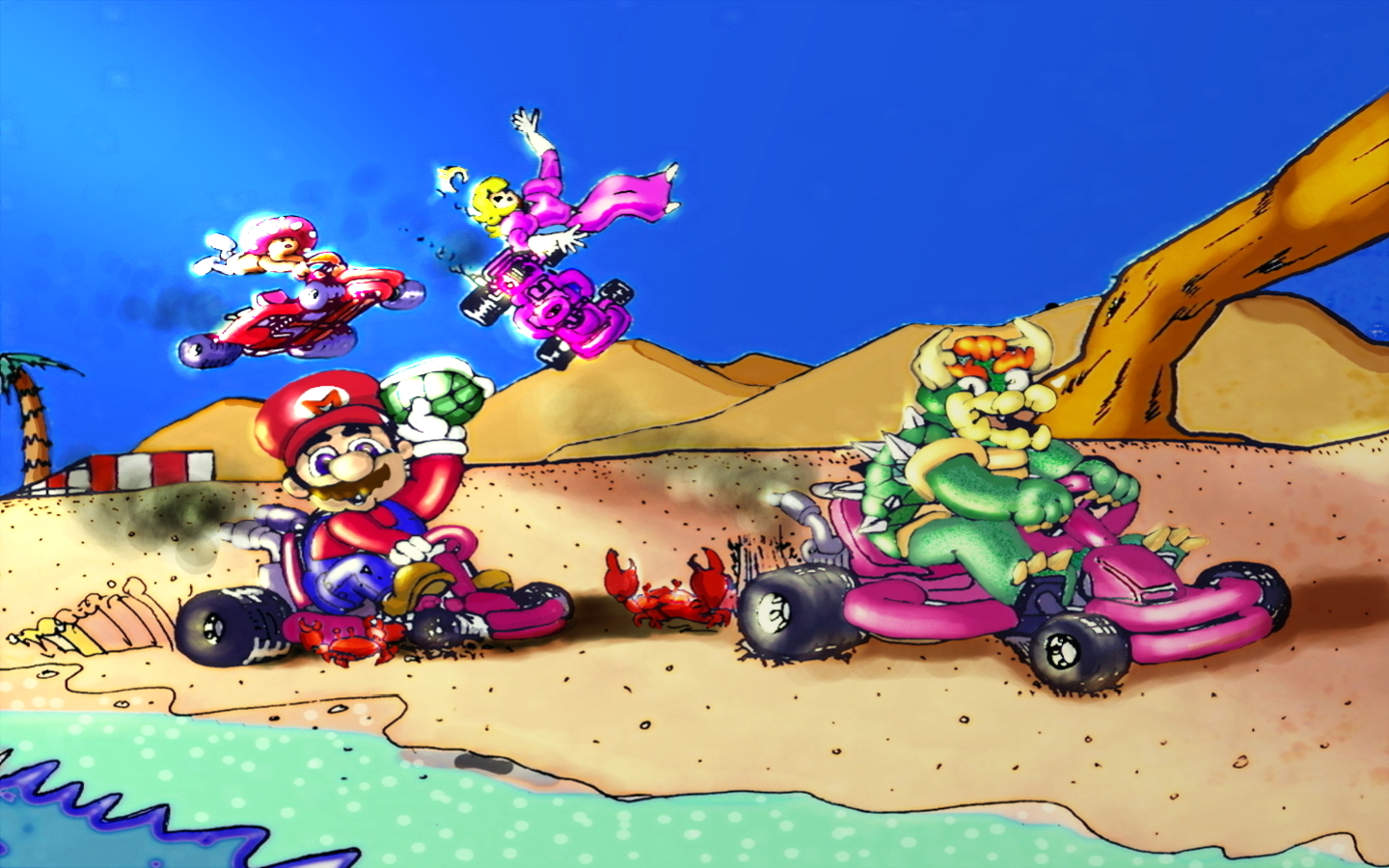 Mario Mayhem by lugnut173
