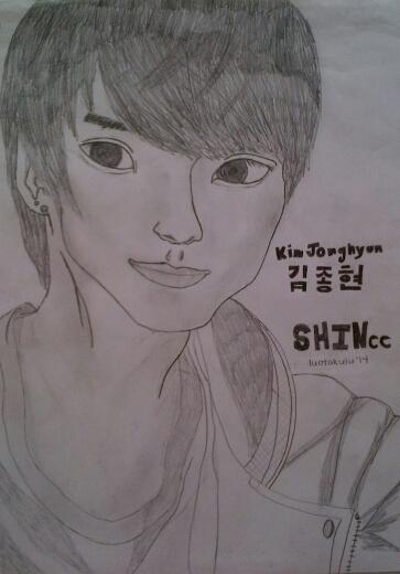 SHINee: Jonghyun by luotakulu