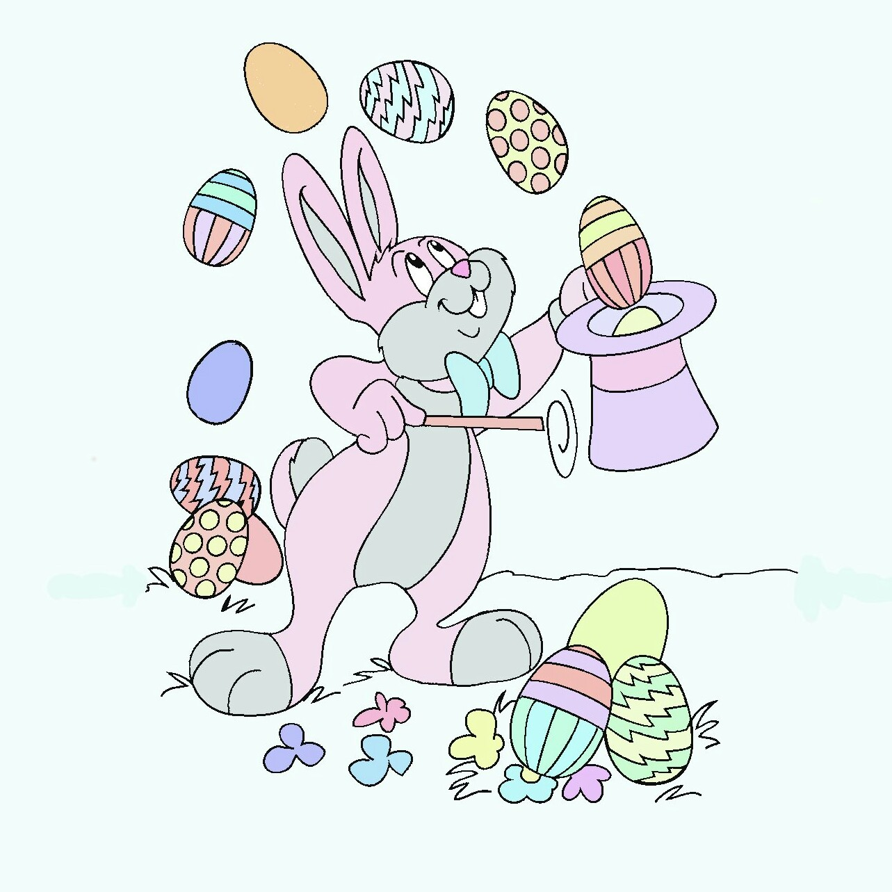 Easter Coloring by luotakulu