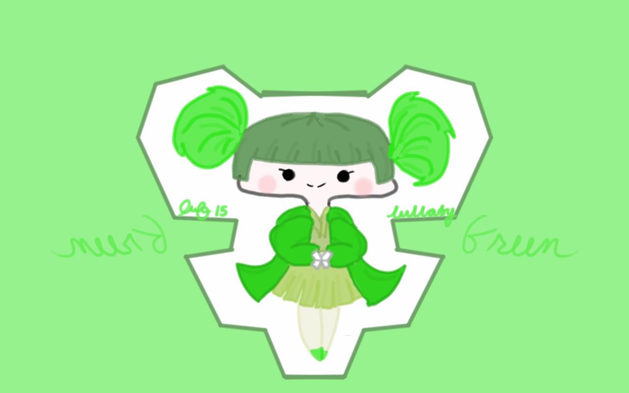 Green chibi by luotakulu