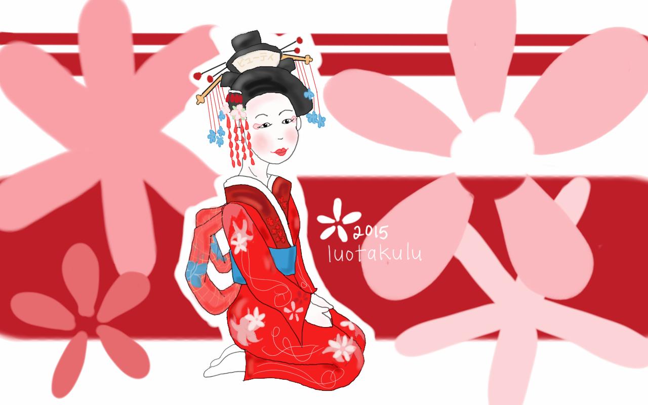 Geisha by luotakulu