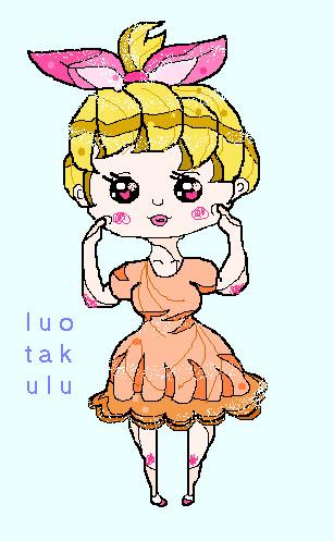 Chibi Girl Moe~ by luotakulu
