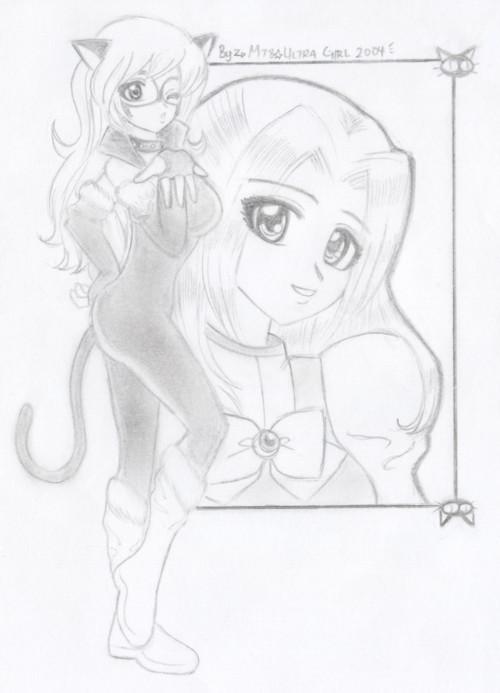 My Manga version Felicia Hardy - Black Cat by M78ultragirl