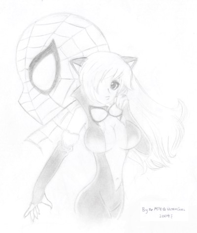 Spider-Man & Black Cat by M78ultragirl