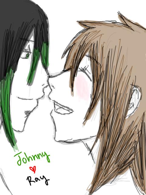 JohnnyxRay Lovin' by MINA-CHAN