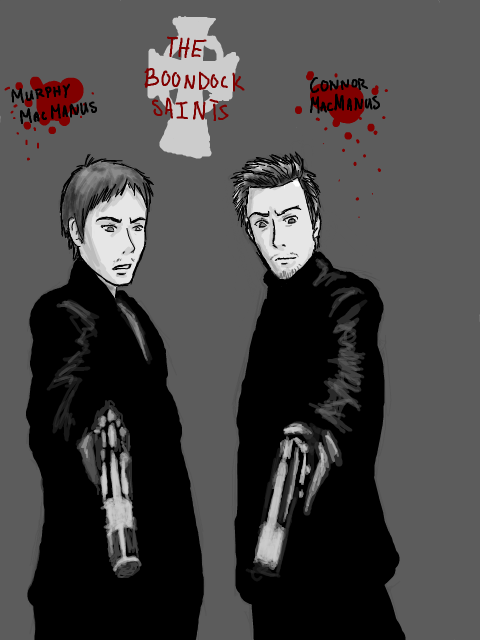 The MacManus Twins by MINA-CHAN