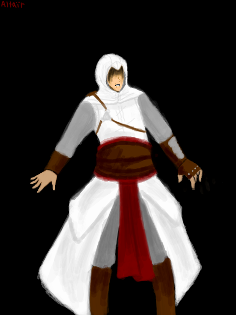 Altair Speed Paint by MINA-CHAN
