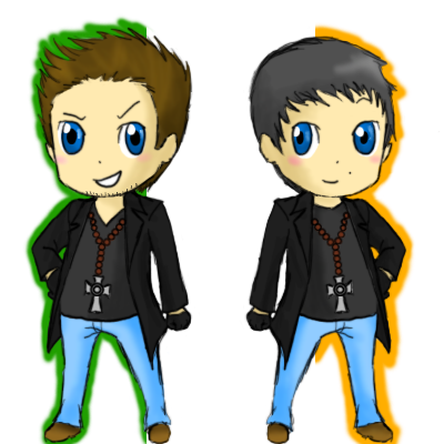 Connor and Murphy MacManus by MINA-CHAN