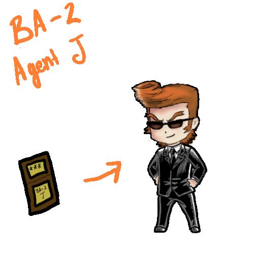 BA-2 Agent J by MINA-CHAN