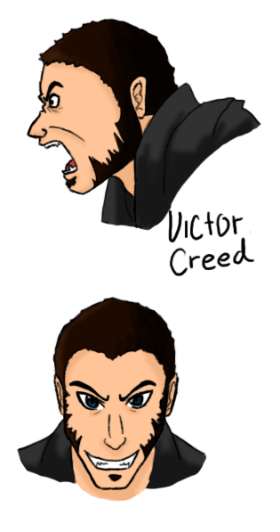 Victor Creed by MINA-CHAN