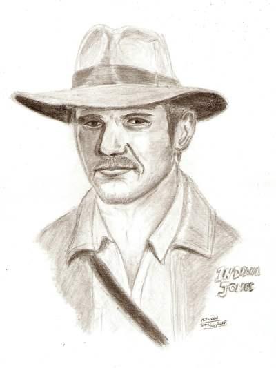 Indiana Jones by MJWOOD