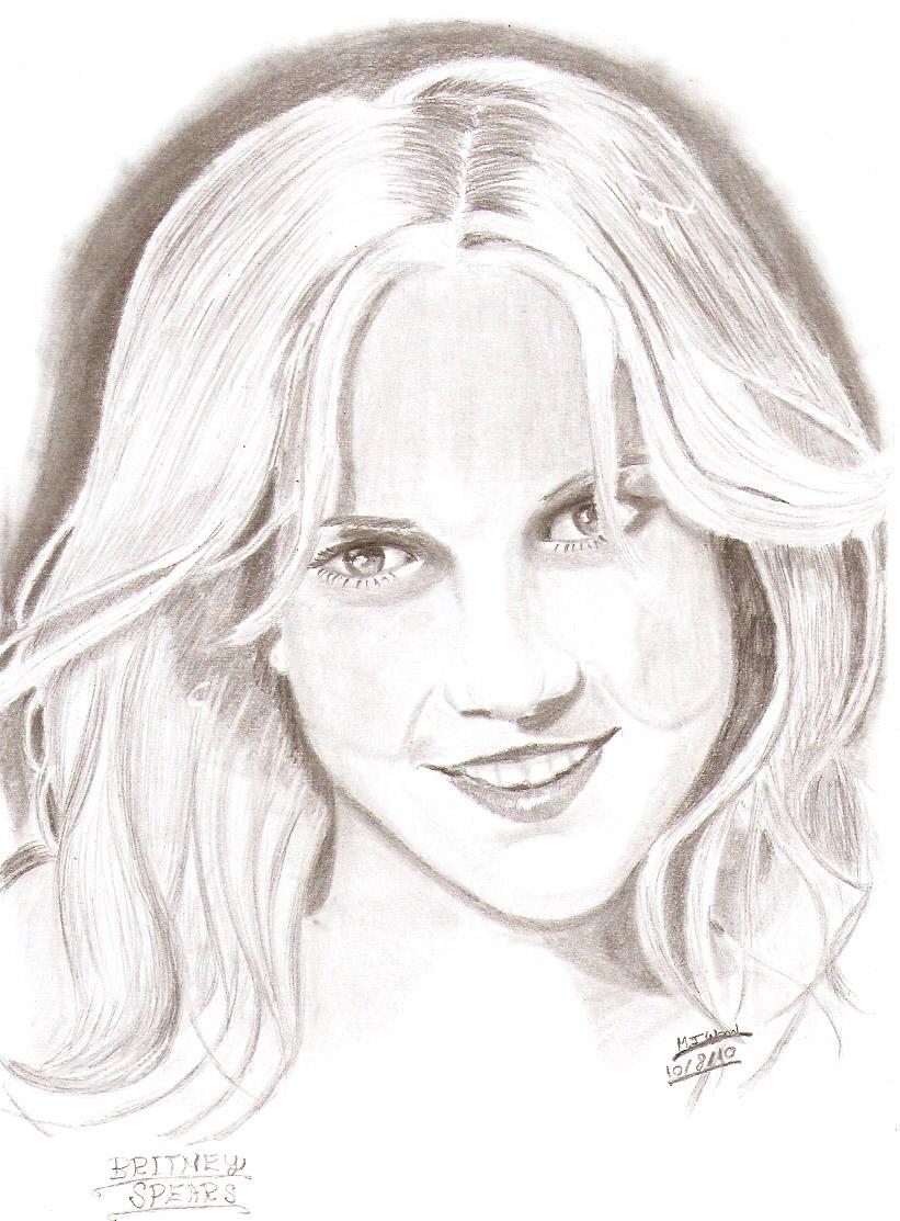 Britney Spears by MJWOOD