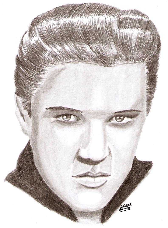 Elvis by MJWOOD