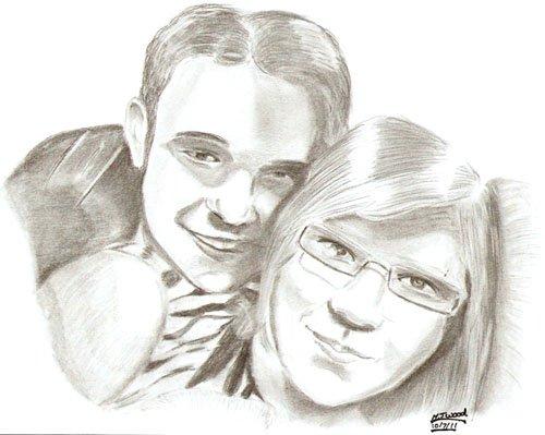 Couple by MJWOOD