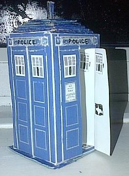Police Box by MJWOOD