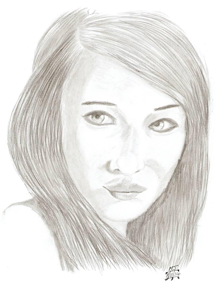 girl portrait Ashlyn by MJWOOD