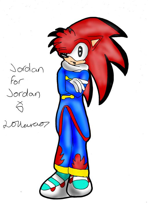 Jordan for Jordan by Mad_person200
