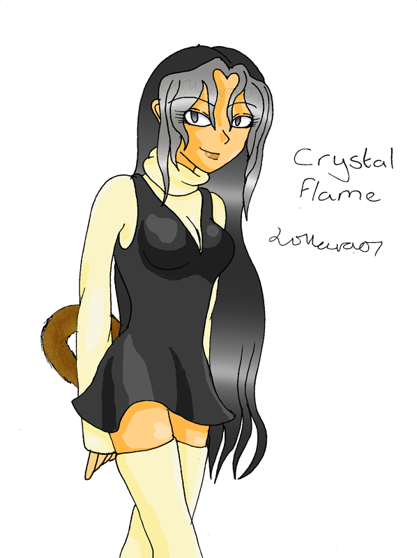 Meet Crystal Flame by Mad_person200