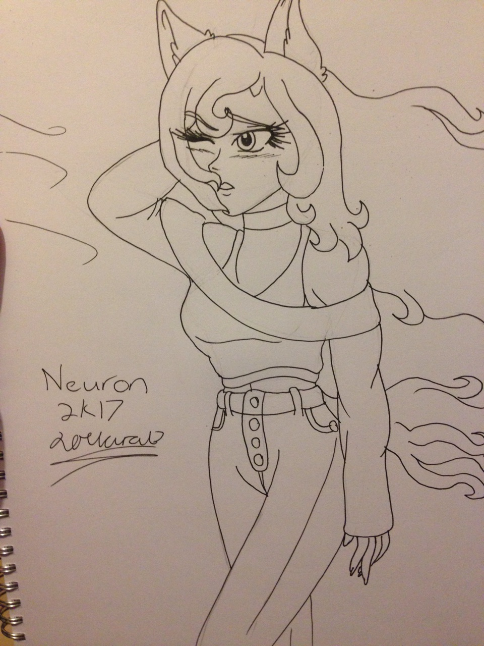 Neuron the pony human by Mad_person200