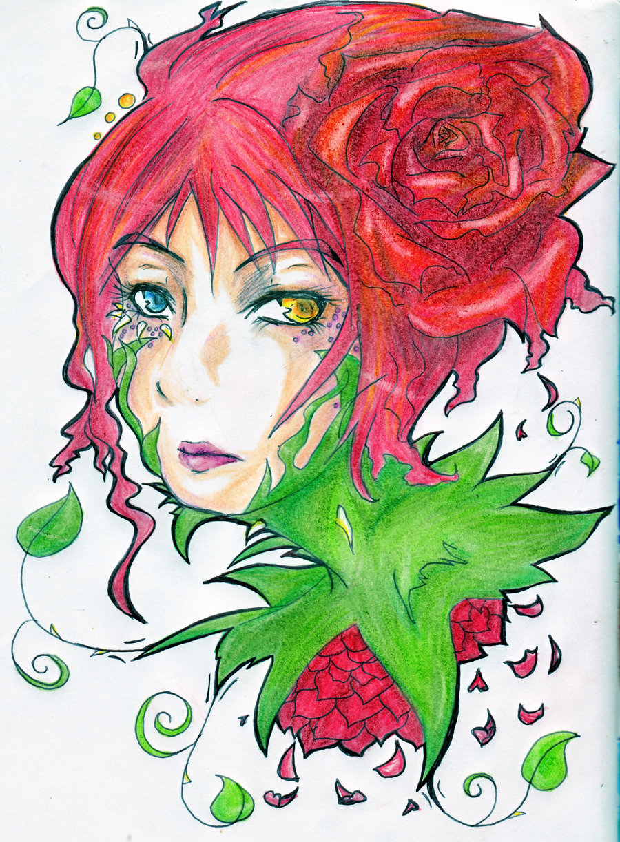 Embodiment of a Rose by MadamePenguin