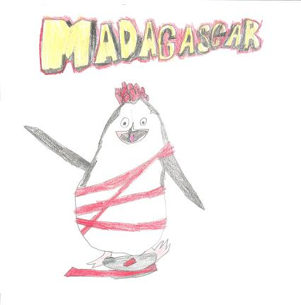 Madagascan Penguin! by MadnessTown