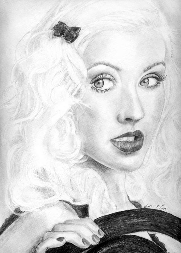 Christina Aguilera by Madonna