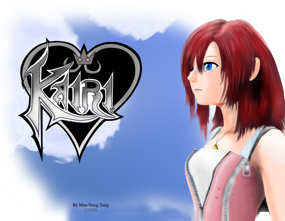 Kingdom Hearts 2- Kairi (COMPLETE!) by Mae-Mae-Chan27135