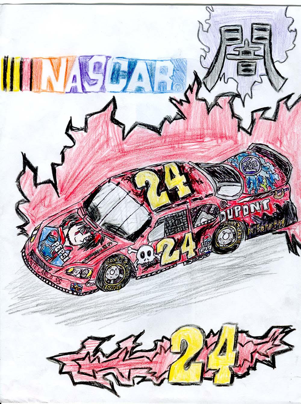Jeff Gordon's racecar- Tyler style! by MageKnight007